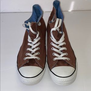 Converse Brown sneakers size 13 Brown.